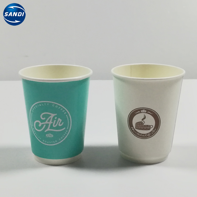 Cheap Custom Disposable Coffee Printed Paper Cup With LOGO