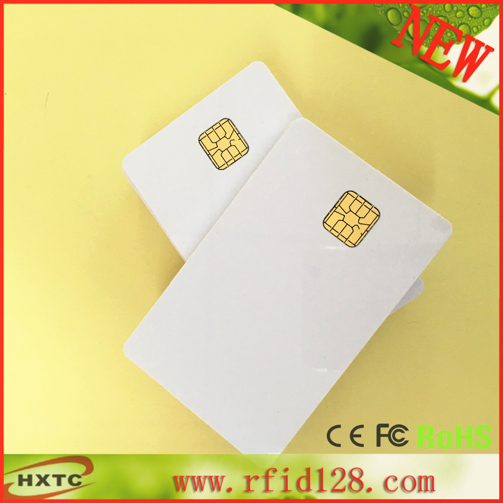 PVC blank card SLE4428 Chip Smart IC Card for super marketing access control 200pcs/lot