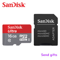 SanDisk Micro SDHC Or SDXC UHS I Memory Card 16GB 32GB 64GB 128GB 80MB S Class