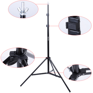 Image 3 - 2 * 3m / 6.5 * 10ft Adjustable Aluminum Photo Background Support Stand Photography Backdrop Crossbar Kit TB 20
