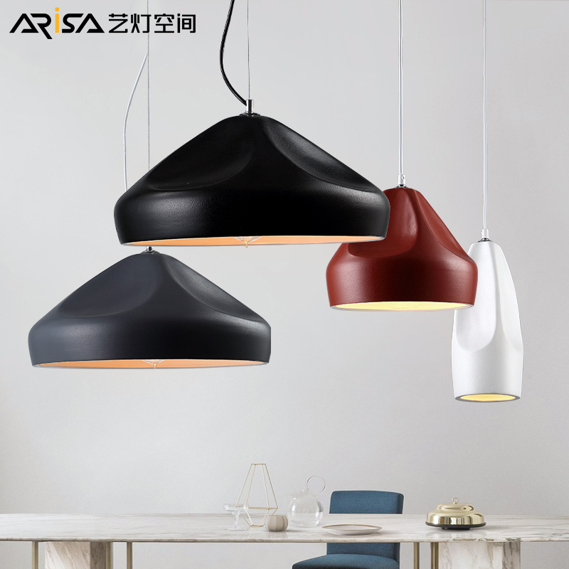 LED living room lamps modern ceramics Pendant Lights creative bedroom Fixtures Nordic Lighting restaurant hanging lights