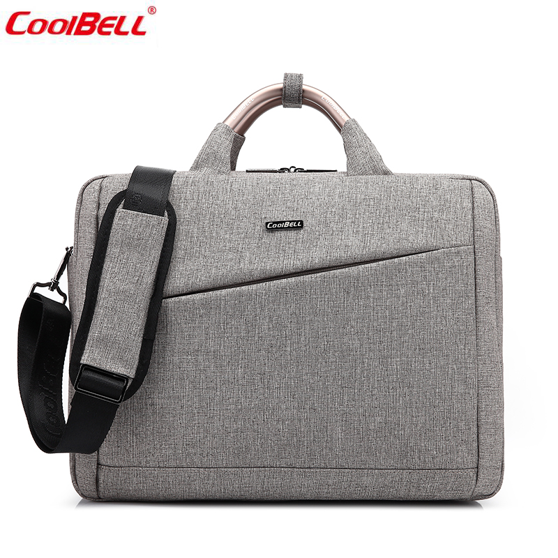 2017 New Arrival Men's laptop bag 15 inch  shoulder bag large Capacity nylon waterproof computer bag Male business hand bag 6605 new waterproof arrival laptop bag case