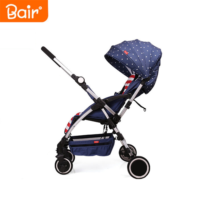 6.2kg super light travel baby stroller two-way ultra-light portable folding umbrella car summer baby car Bell face mum strollers 4 6kg baby sleeping 180 degree light folding portable ultra light baby car umbrella two way summer child trolley baby stroller