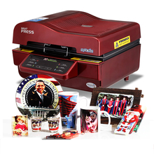New 3D Sublimation Heat Press Printer 3D Vacuum Heat Press Printer Machine Printing for Cases Mugs Plates Glasses