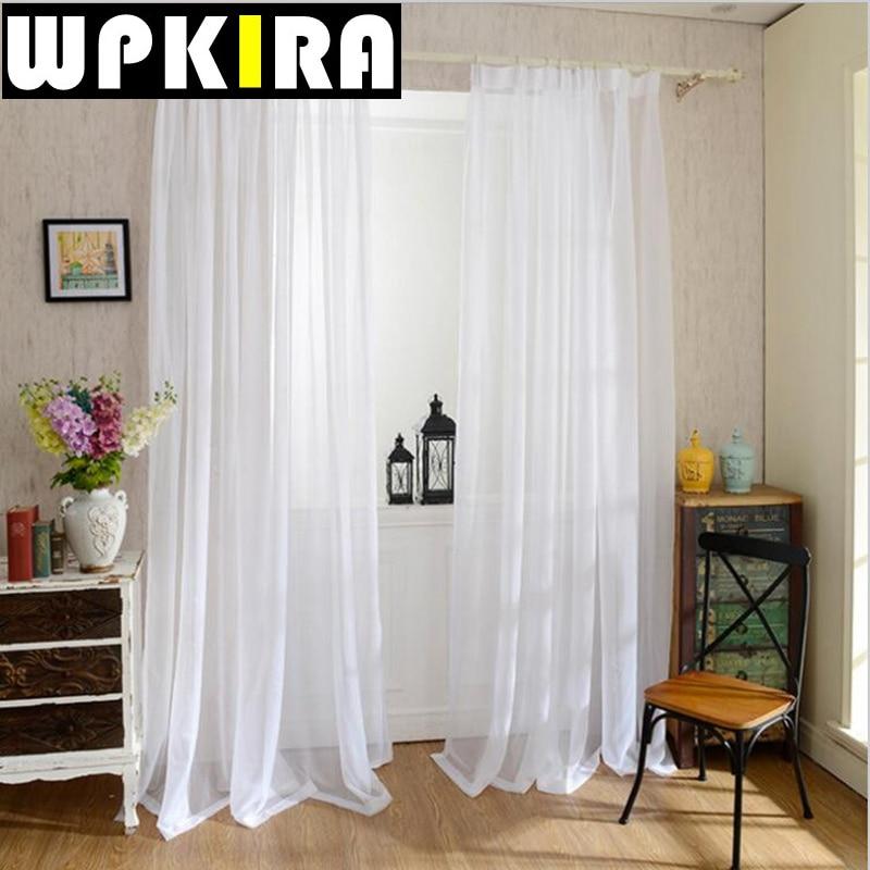 online kaufen großhandel wohnzimmer vorhänge aus china ... - Vorhange Wohnzimmer Weis