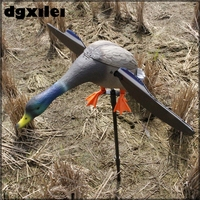 2018 Xilei Protect Garden Duck Decoy Bionic Animal Bait Hunting Duck Decoys With Spinning Wings
