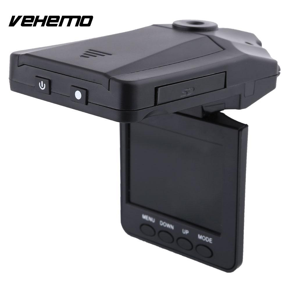 Vehemo 6LED 2.5 LCD HD Car DVR Vehicle Camera Recorder Dash Cam Camcorder Crashcam