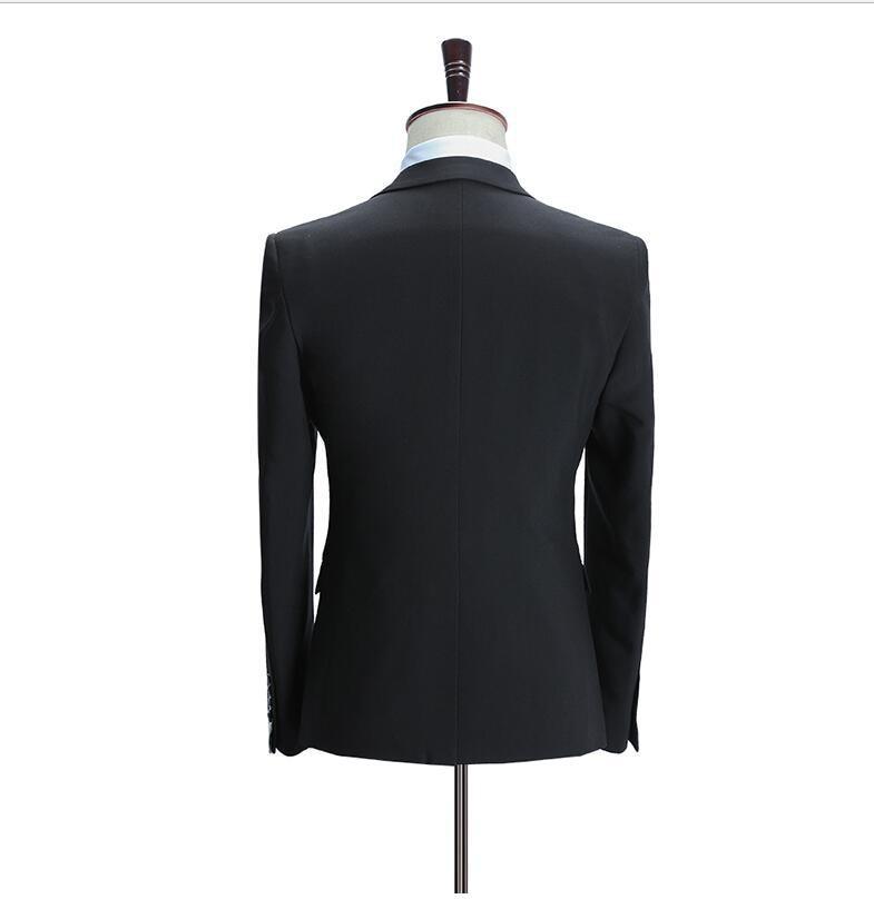 De Costume blue Vintage Black Luxe Hommes blazer 3 Marié Vêtements Fit Mariage Convient Slim Mode Pantalon Casual Pièce Gilet Costumes Mens Ensemble Pour WnqwP8qBvA