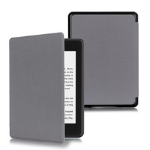 PU Leather Cover Case for 2018 New Amazon Kindle Paperwhite 4 Slim Smart Folio Auto Sleep Wake UP for Paperwhite 4 Funda Capa benuo genuine leather case for kindle paperwhite case cover [card slots]protective flip folio case for amazon kindle paperwhite