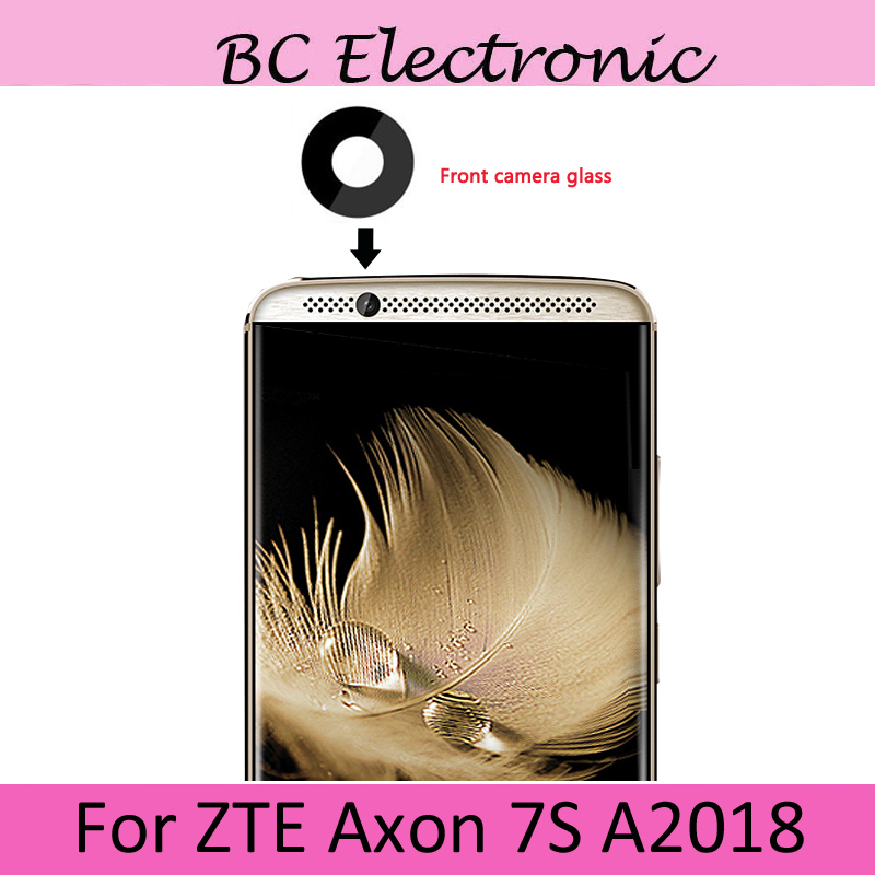 Original For ZTE Axon 7s Axon7s <font><b>A2018</b></font> A 2018 Rear Front Small Camera Glass Lens Replacement Repair For ZTE Axon 7s Axon7 s <font><b>A2018</b></font> image
