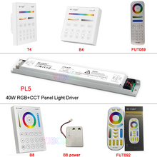 Miboxer RGB+CCT 40W led Panel Light Driver PL5 2.4G wireless Smart Panel Remote Controller B8/FUT089/FUT092/B4/T4