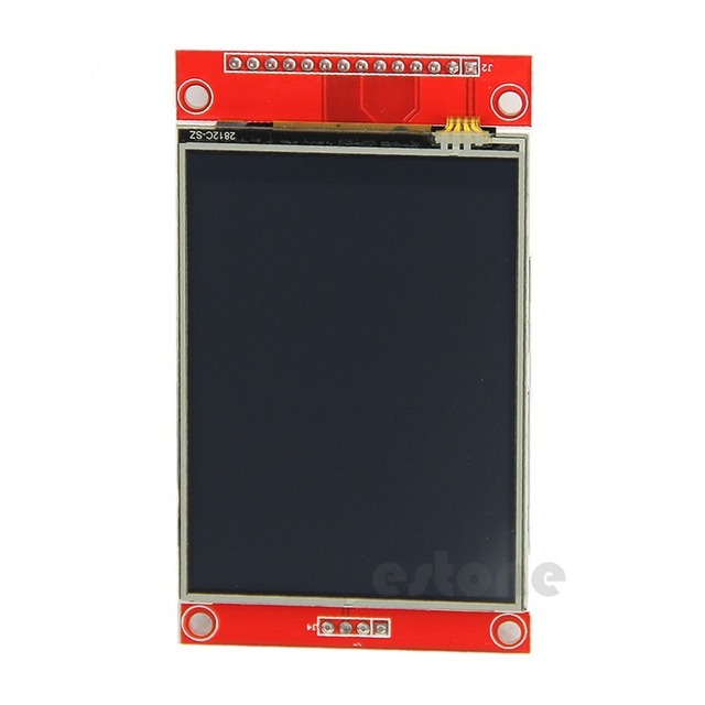 "F85 Free Shipping 240x320 2.8"" SPI TFT LCD Touch Panel Serial Port Module with PCB ILI9341 5V/3.3V"