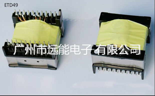ETD49 high frequency transformer power transformer customized transformer