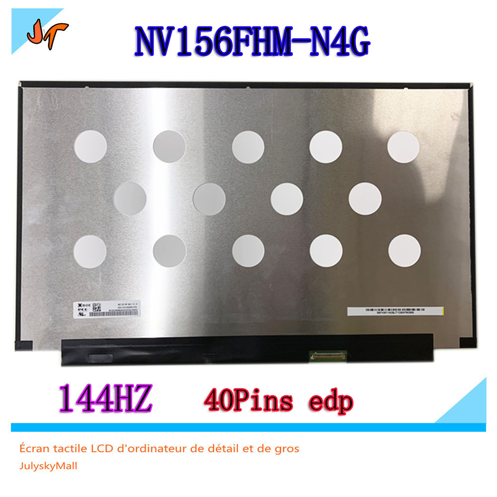 Original 144hz LCD screen 72 NTSC micro edge NV156FHM N4G nv156fhm n4g 15 6 inch Ips