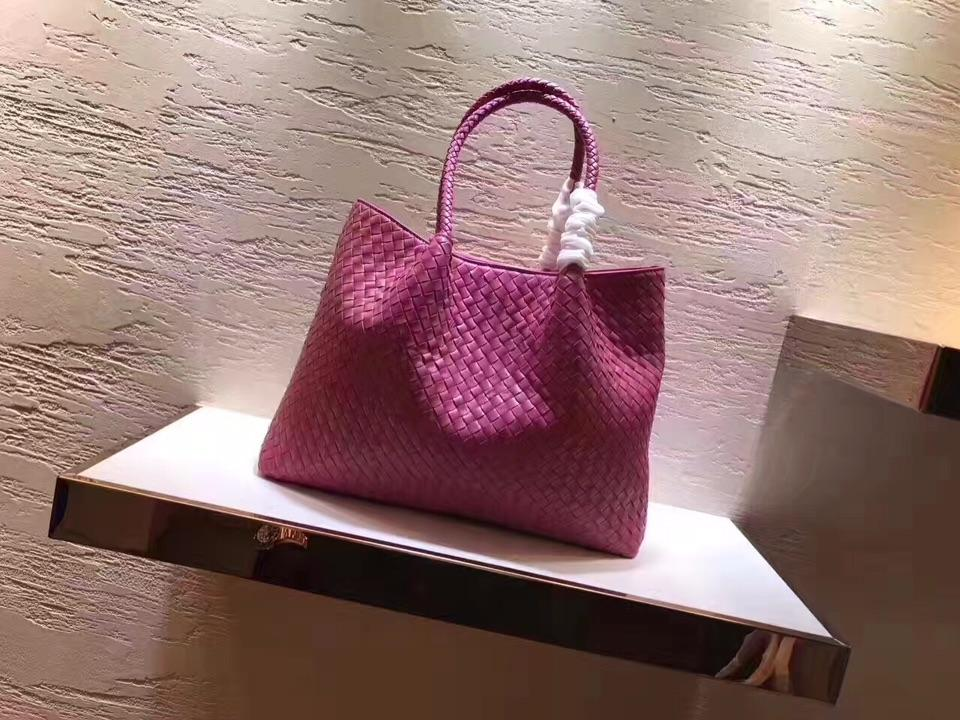 Women Handbag Genuine Leather Lambskin Soft Knitted Female Shoulder Carry Tote Shopping Purse Bag Set Luxury Brand Designer  1