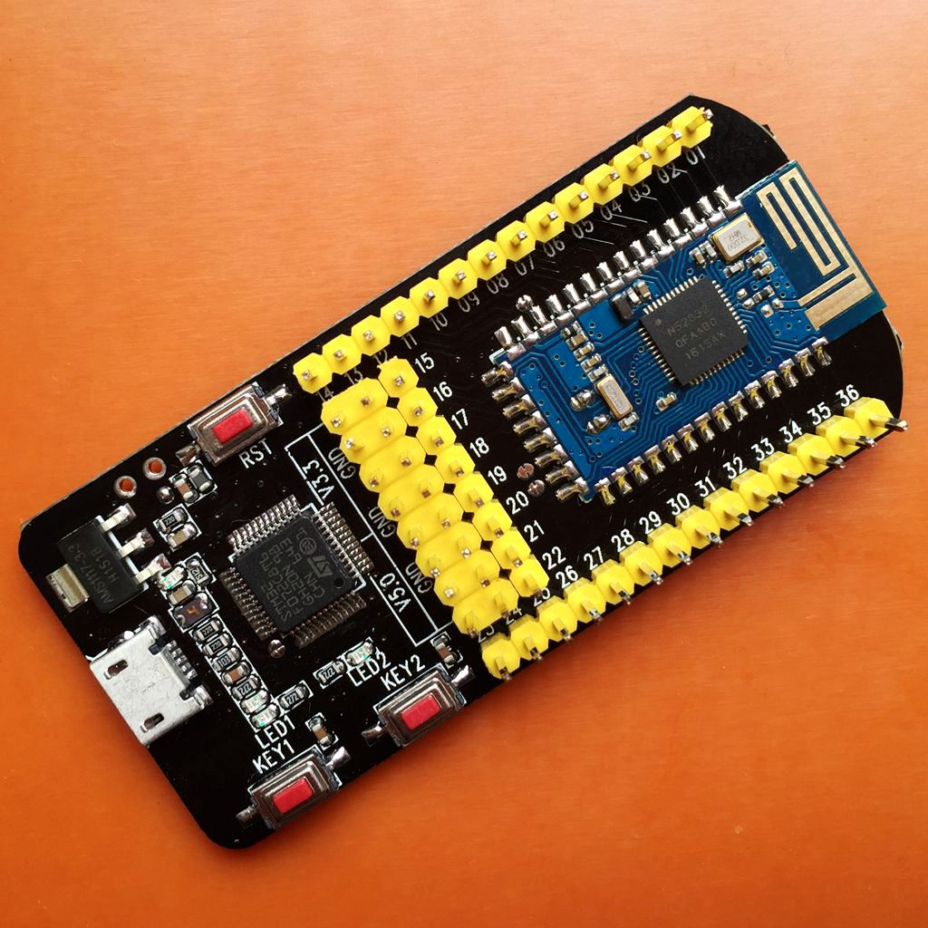 Load simulator serial multifunction 518229020 NRF52832 development board NFC board support