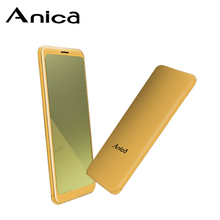 "Anica T10 Feature Phone, 1.54"" Bluetooth Dialer mini Phone full Screen, Basic GSM Mobile Phones for Students with 3 Card Slots"
