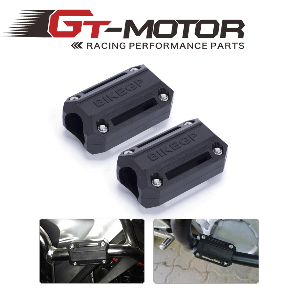 GT Motor-Modified FOR BMW R1200GS LC adv F700GS F800GS engine Protection Bumper Decorative Block Dismantling Installation 25mm for bmw r1200gs adv f800gs adv f700gs new motorcycle adjustable handlebar riser bar clamp extend adapter