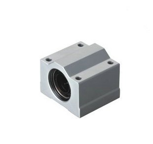 SCS12UU (10Pcs) Linear Motion Ball Slide Units SMA12 UU CASE UNITCNC CNC scv35uu slide linear bearings aluminum box type cylinder axis scv35 linear motion ball silide units cnc parts high quality