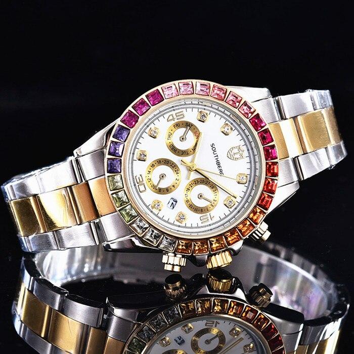 새로운 패션 시계 여성 라인 석 쿼츠 시계 relogio feminino 여성 손목 시계 드레스 패션 시계 reloj mujer