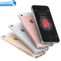 Original Unlocked Apple IPhone SE Smartphone A9 IOS 9 Dual Core 4G LTE 2GB RAM 16