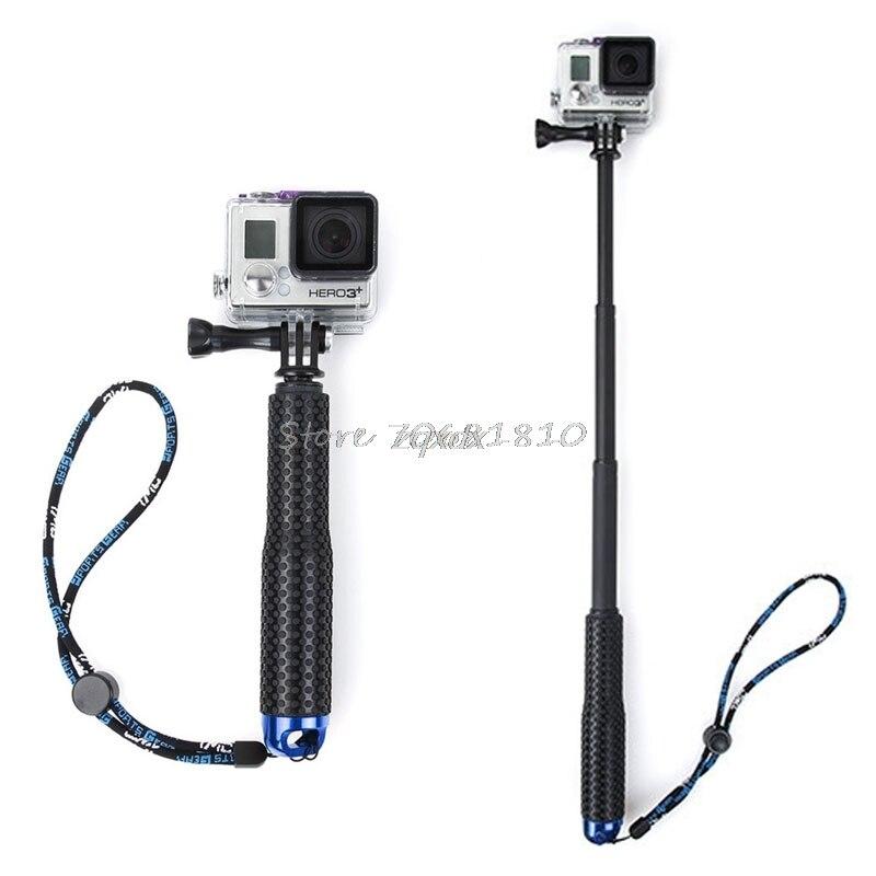 1 Set Extendable Pole Mini Selfie Stick Waterproof Monopod