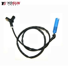 CENWAN Front Rear Left Right ABS Wheel Speed Sensor 0986594513 For BMW E46 325Ci 330Ci M3 Z4 34526752683 ALS438 01-07 6752683 front left right rear left right abs wheel speed sensor kit for chery indis x1 s18d beat a1 kimo face arauca s12 dr1 dr2