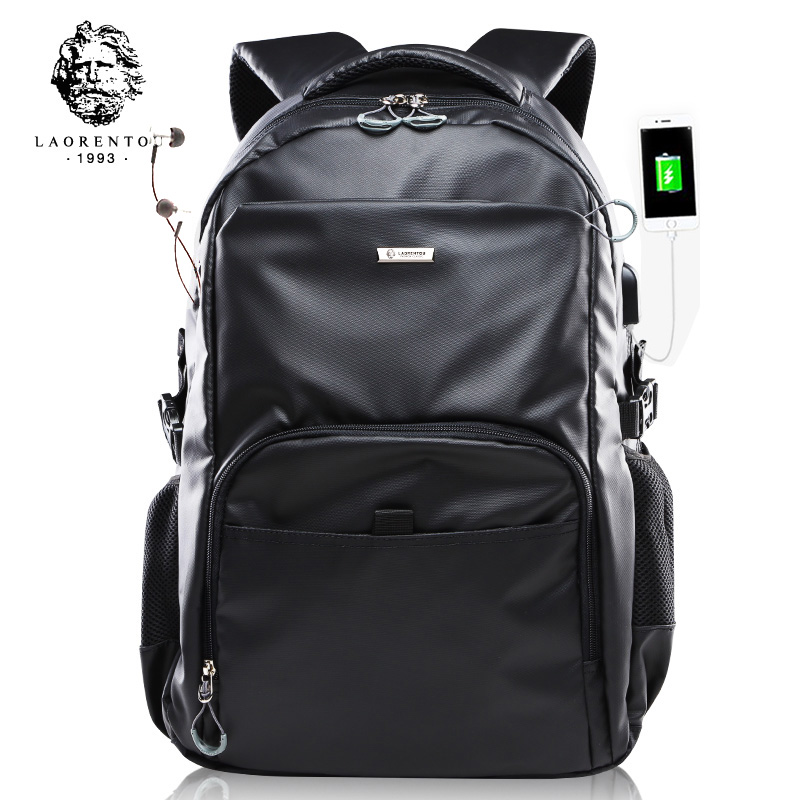 LAORENTOU Backpack for Men and Women Laptop Computer Bag Girls Fashion Backpacks Big Capacity School Bag Trendy Female Backpack