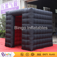 2.4 Meters cube inflatable photobooth shell air photo booth clam tent