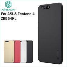 For Asus Zenfone 4 ZE554KL Case Cover Nillkin Case Hight Quality Super Frosted Shield +Screen Protector For Zenfone 4 ZE554KL смартфон asus zenfone 4 ze554kl black 90az01k1 m01210