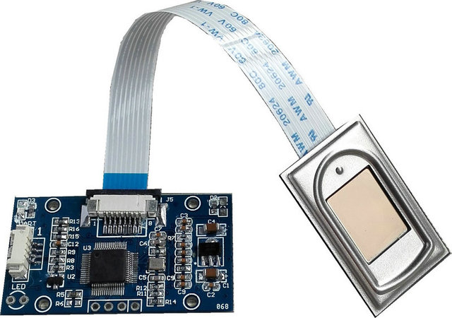 R303 Capacitiva Fingerprint Reader/Módulo/Sensor/Scanner