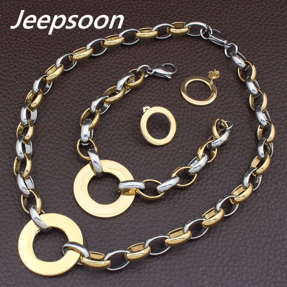 9.6 Stainless Steel 2 Color Celtic Twisted Cable Wire Round Torc Cuff Bangle with Ball Length