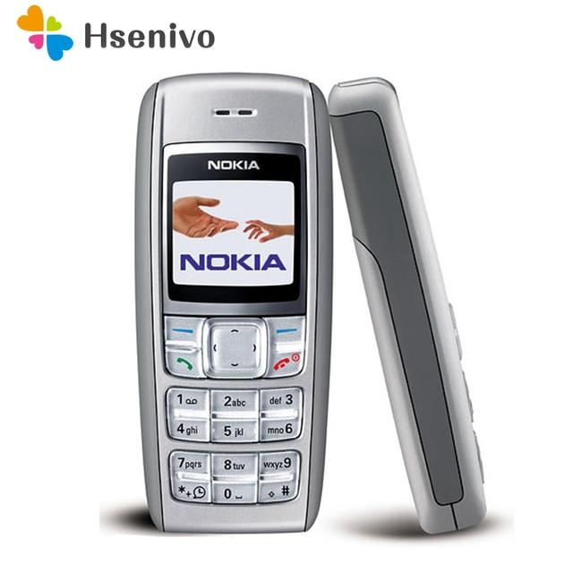 1600 Nguyên Bản ĐTDĐ Nokia 1600 2 băng tần GSM Mở Khóa Điện Thoại GSM 900/1800 Refurbished