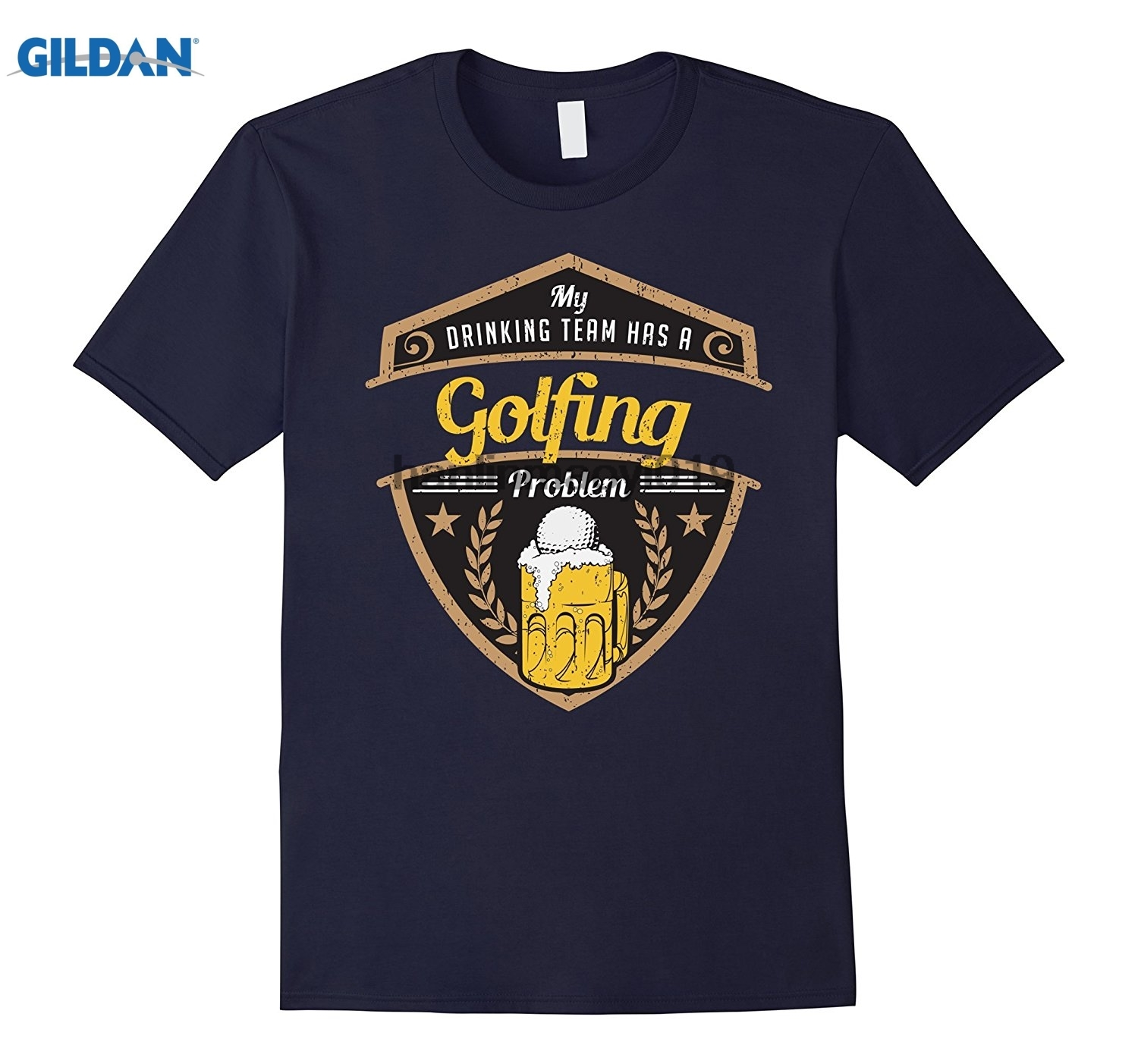 GILDAN My Drinking Team has a Golfing Problem Beer T-shirt