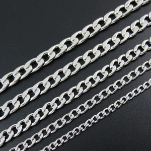2019 Stainless Steel mens Necklace chain link punk Gifts for Men Women Best Friends Hip Hop man Necklaces Male Figaro Chains