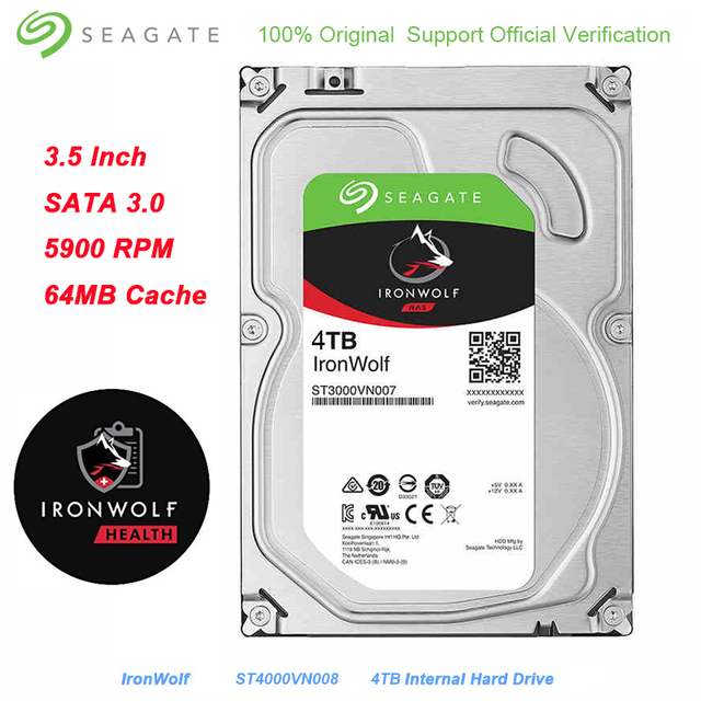 Sensational Us 152 19 50 Off Seagate 4Tb Ironwolf Sata 3 0 Hard Disk For Desktop Pc Interface 64Mb Cache 6Gb S 5900 Rpm 3 5 Inch Internal Hard Drive Disk In Interior Design Ideas Oteneahmetsinanyavuzinfo