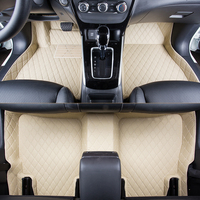WLMWL Car Floor Mats For Mitsubishi all models ASX outlander lancer pajero sport pajero dazzle car styling Car Carpet Covers