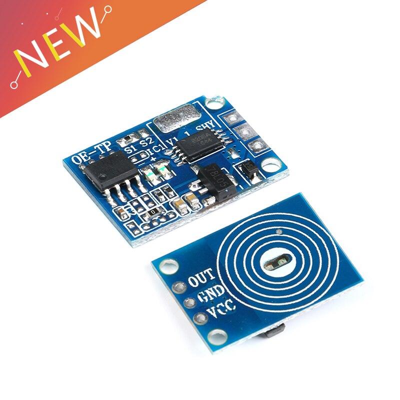 Емкостная сенсорная кнопка светильник, сенсорный модуль, цифровой сенсорный датчик, светодиодный, без затемнения полюсов, 10 А DC 5-12 В