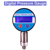 SP Free shipping 0 60Mpa 0.25% 3VDC Battery Powered Digital Vacuum Pressure Gauge psi/Bar/ kg/m2/Kpa
