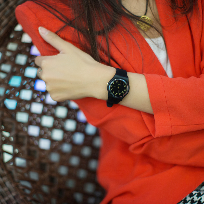 Swatch Watch Classic Color Code Series Quartz Watch GB274Swatch Watch Classic Color Code Series Quartz Watch GB274