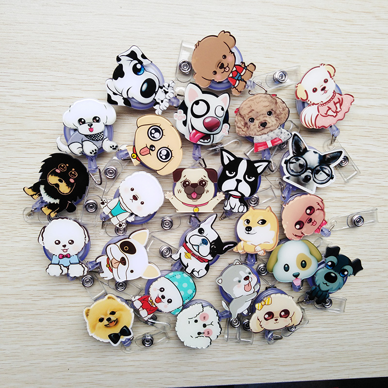 Back To Search Resultsoffice & School Supplies Badge Holder & Accessories Big Sale Mini Animal Family Retractable Badge Reel Student Nurse Exihibiton Id Identification Card Badge Holder Office Supplies