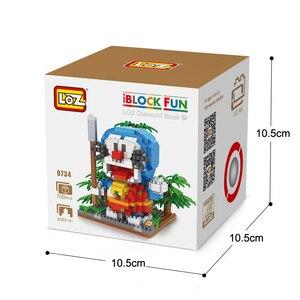 Image 4 - LOZ Конструктор Игрушка Doraemon фигурку аниме алмаз игрушка для детей в возрасте 14 + официальный уполномоченный подарок день рождения
