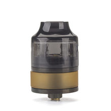 Coil Father Nano RDTA Atomizer 2ml Capacity 22mm Diameter Rebuildable Tank Vaporizer Fit 510 Electronic Cigarette Mod(China)