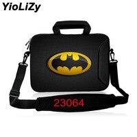Batman print shockproof laptop shoulder bag 10 12 13.3 15 15.6 17 17.3 inch notebook sleeve protective briefcase case SB 23064