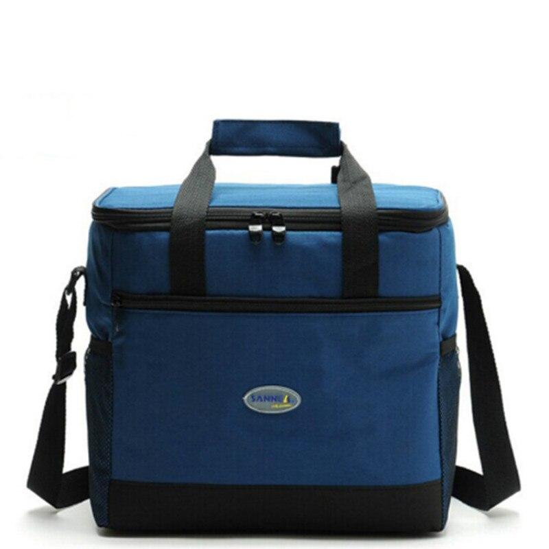 купить Thicken Folding Fresh Keeping Waterproof Nylon Lunch Bag Cooler Bag For Steak Insulation Thermal Bag Insulation Ice Pack онлайн