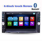 6.6 inch Car MP3 MP5 FM Player Auto Audio Stereo TFT Touch screen 2 Din in Dash Bluetooth Stereo Radio with USB AUX IN