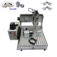 3D CNC Router 3040 Wood Carving Machine 1500W 4 Axis USB Milling