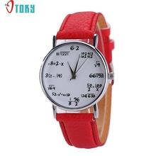 OTOKY Willby Math Caculation Printed Students Big Dial Quartz Wrist Watch Gift 161212 Drop Shipping