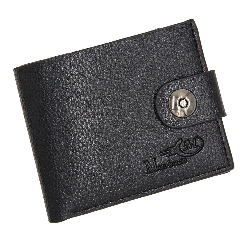 2018 Fashion Wallet Men Leather Men Wallets Purse Causal Leather Wallet Mens Money Bag Leather Short Clutch Coin Pocket Wallet