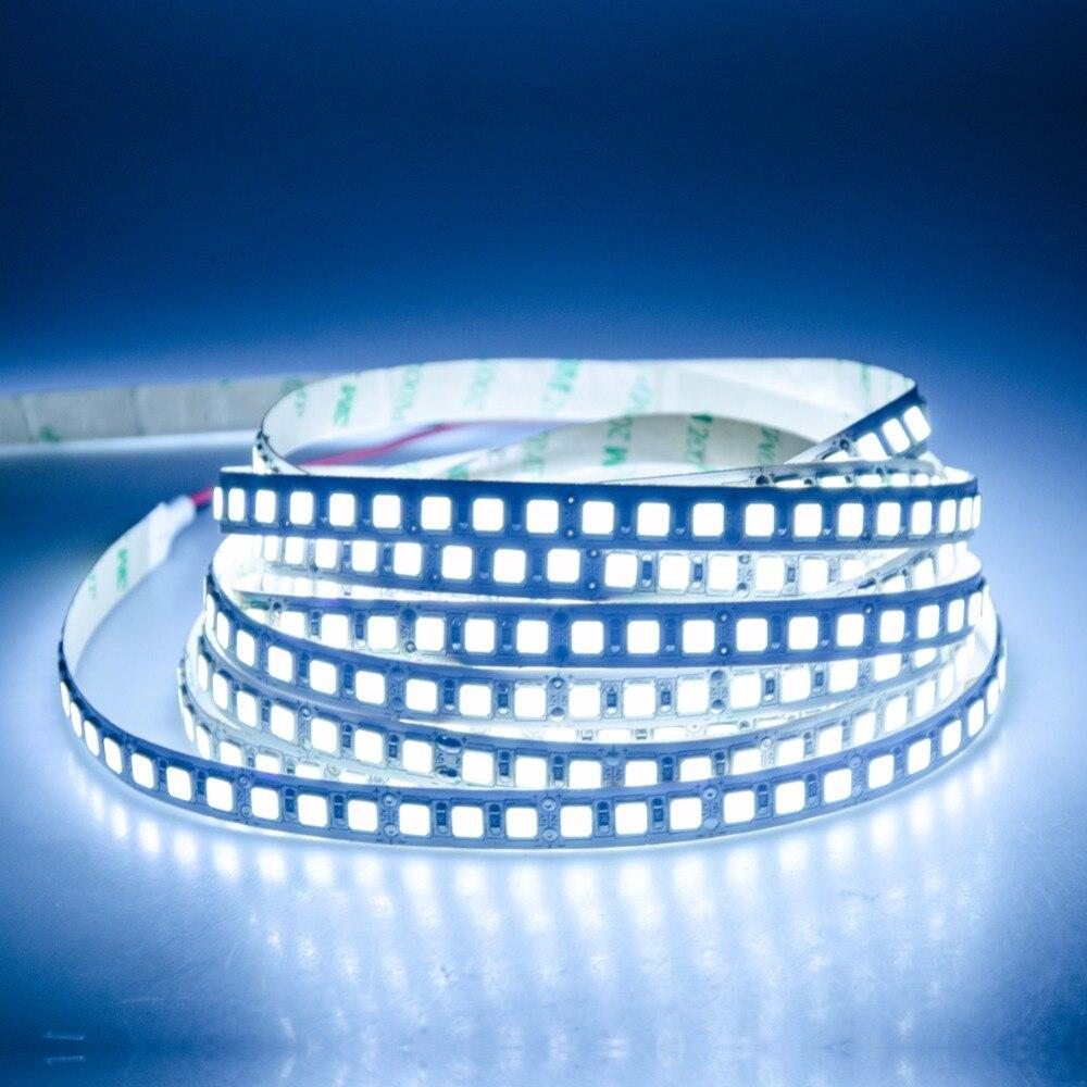 5M 5054 LED Strip Light 120 LEDs/m DC 12V 600 LEDs Diode LED Tape Light IP65 IP68 Waterproof Keyboard TV Background Decor